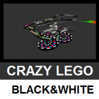 Crazy Lego (B&W)